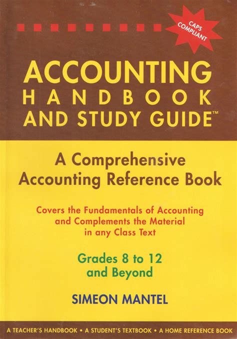 reference book questions accounting handbook and study guide a comprehensive