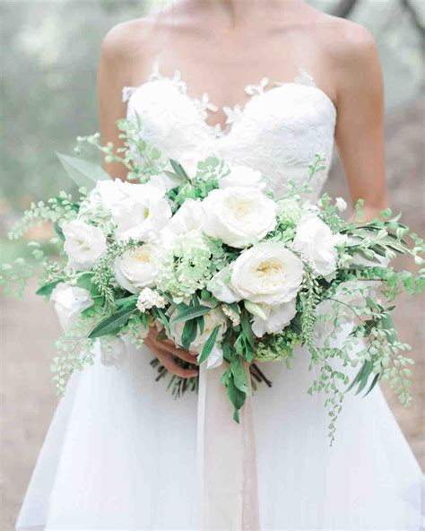 Wedding Bouquets by 20 Stunning Wedding Bouquets With Ferns Martha Stewart