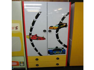 Race Car Wardrobe by Wardrobe Racing Car Theme Collection