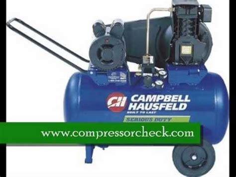 cbell hausfeld 20 gallon air compressor review cbell hausfeld vs5006