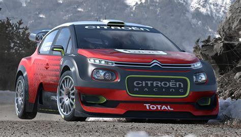 Citroen Rally by C3 Wrc Le Grand Retour De L 201 Curie Citro 203 N Racing En