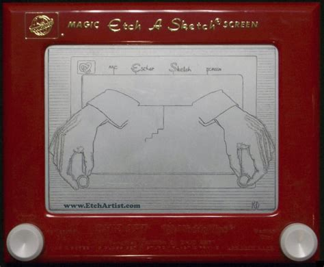 Etch A Sketches by 15 Amazing Etch A Sketch Creations Huffpost