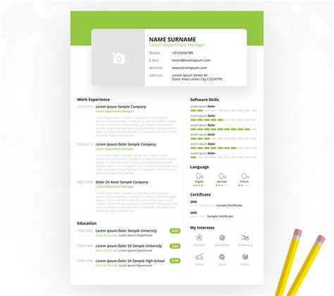 simple resume template psd simple resume cv template free psd at downloadfreepsd