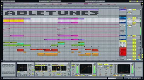 Electro House Ableton Live Template Stripes By Abletunes Youtube Ableton House Template