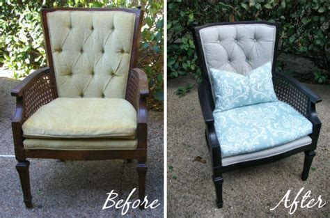 Recover Armchair by Artfully Crafted In The Works Reupholstering A Mid