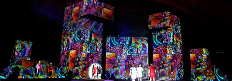 Proyektor Mapping projection mapping ventuz