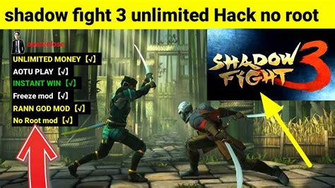 mod game without root updated shadow fight 3 hack mod full version without root