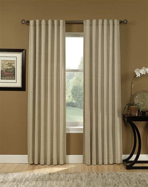 back tab curtains tibet chenille back tab curtain panel curtainworks com