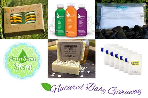 Baby Giveaways 2014 - green scene mom natural baby giveaway 12 18