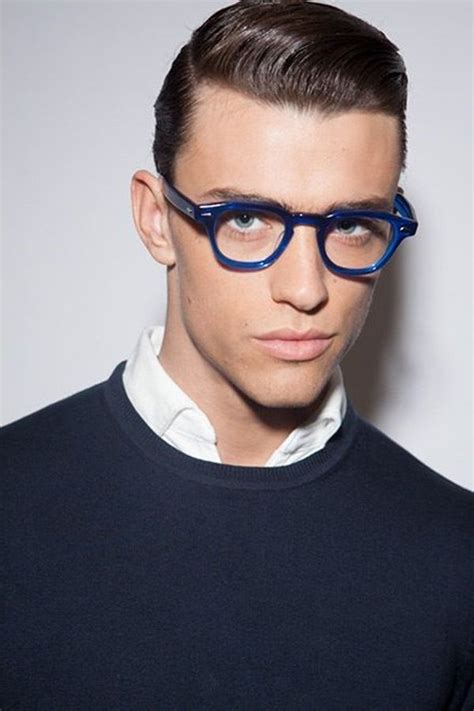 hairstyles to make glasses look good 43 best 40 cool men s looks wearing glasses images on
