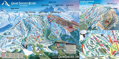 grand map trails grand targhee resort trail map