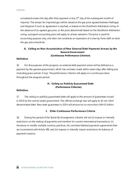 Financial Commitment Letter Of Intent Template Imf Letter Of Intent Memorandum Of Economic And Financial Policie