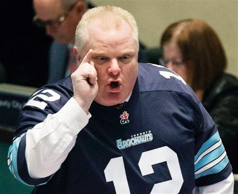 toronto mayor ford toronto mayor rob ford has higher approval rating than