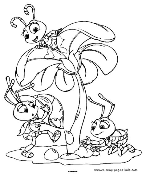 water bug coloring page a bug s life coloring pages printable disney coloring
