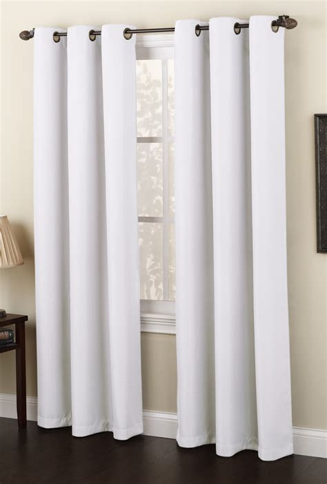 White Valance Curtains Montego Grommet Curtains White Lichtenberg View All Curtains