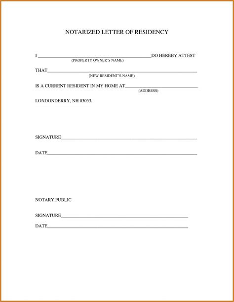 notarized letter template for child travel notary letter notary letter