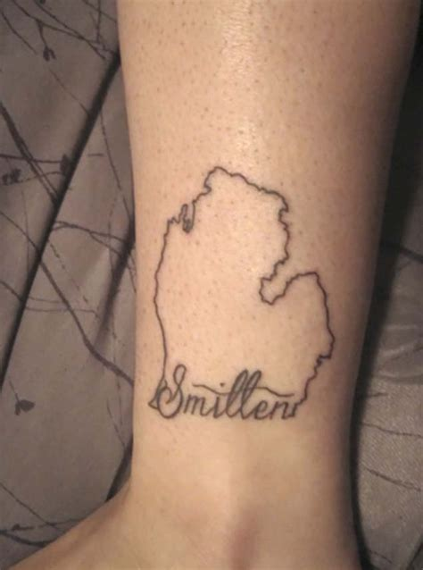 michigan tattoo 43 spectacular state of michigan tattoos tattooblend