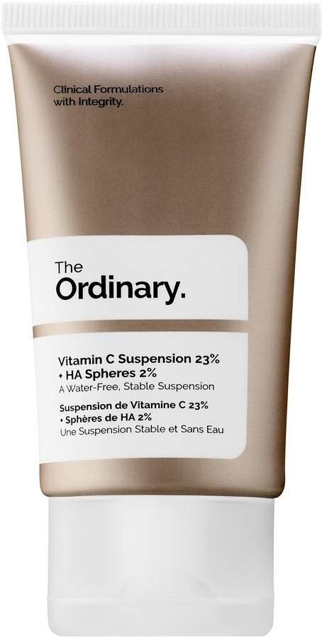 The Ordinary Vitamin C Suspension 23 Ha Spheres 2 30ml Sp best products from the ordinary popsugar australia
