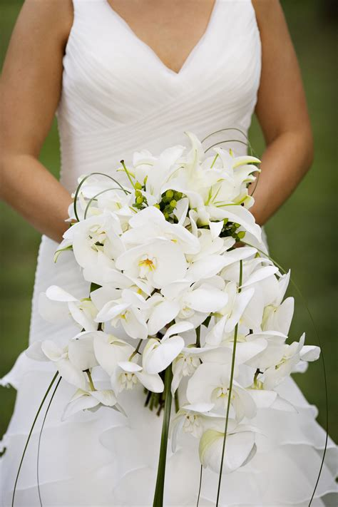 Wedding Bouquet And White by White Bridal Bouquets The Enchanted Florist