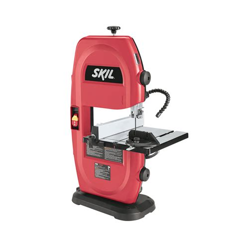 skil table saw lowes shop skil 9 in 2 5 band saw at lowes com