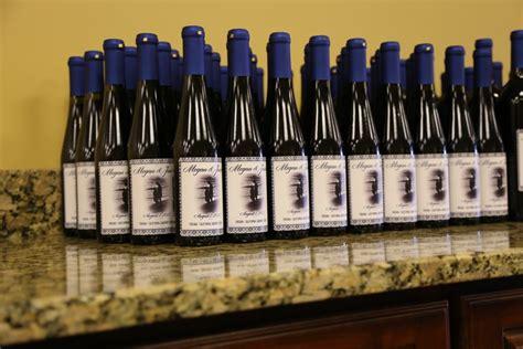 Wedding Favors Wine Bottles by Wine Bottle Wedding Favors Your Make Incl Custom Label For