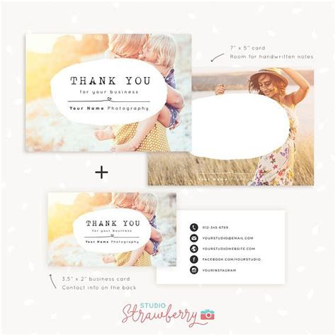 3x2 business card template best 25 business thank you notes ideas on