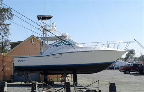 pursuit diesel boats for sale 1991 3250 pursuit diesel sold the hull truth boating