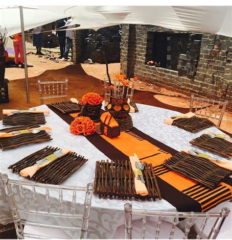 wedding table settings pictures south africa wedding weddings africans weddings and traditional weddings