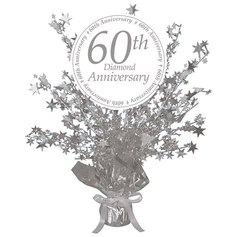 60th anniversary centerpieces 60th anniversary supplies 60th anniversary centerpiece