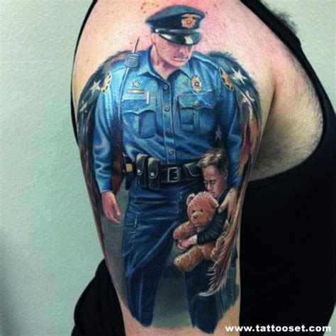 tattoo quotes for cops police officer tattoo quotes quotesgram
