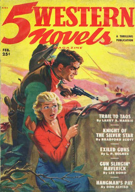 rough edges saturday morning western pulp  western novels february