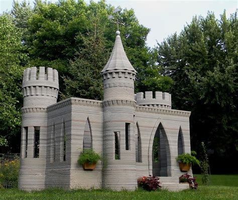 World?s First 3D Printed Castle is Complete ? Andrey