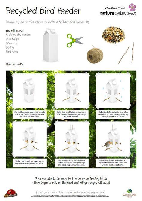 bird feeder help your pupils make a bird feeder from