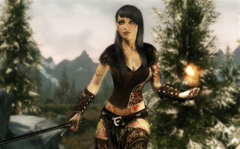 dreamburrows princess of the woods retextureunp skyrim nexus mods and community