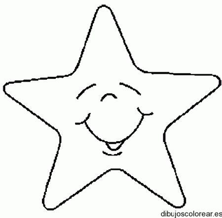 dibujos para colorear de estrellas y corazones imagui dibujo de una estrella grande imagui