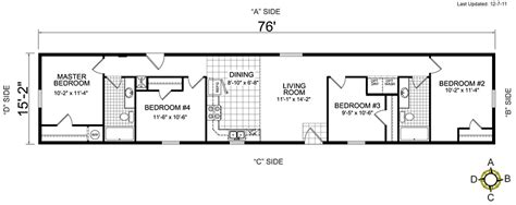 d double wide floor plans gallery and 4 bedroom images redman manufactured homes floor plans thefloors co