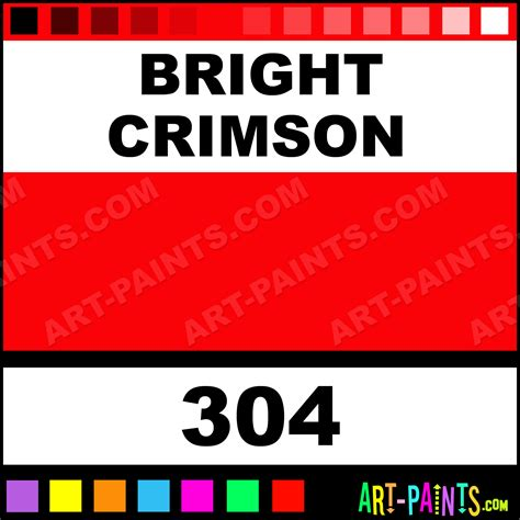 bright crimson artist acrylic paints 304 bright