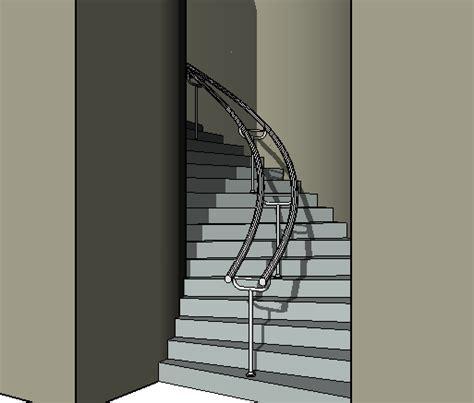 barandilla revit curso online revit architecture 3 2 barandillas en escaleras