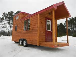 144 sq ft tiny cabin on wheels