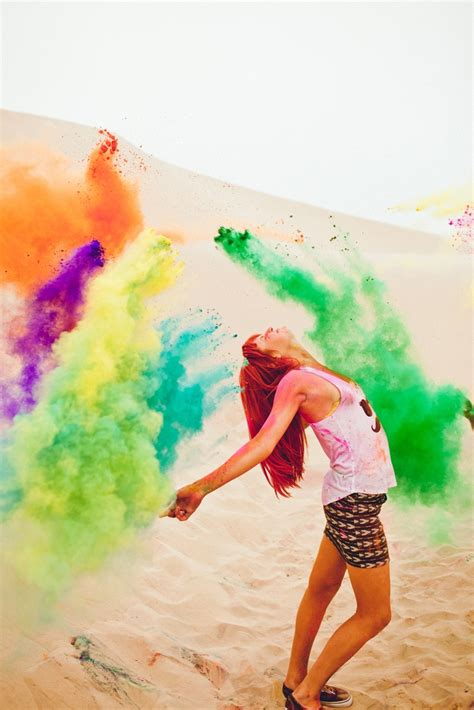 summer 2012 color holi powder shoot ideas
