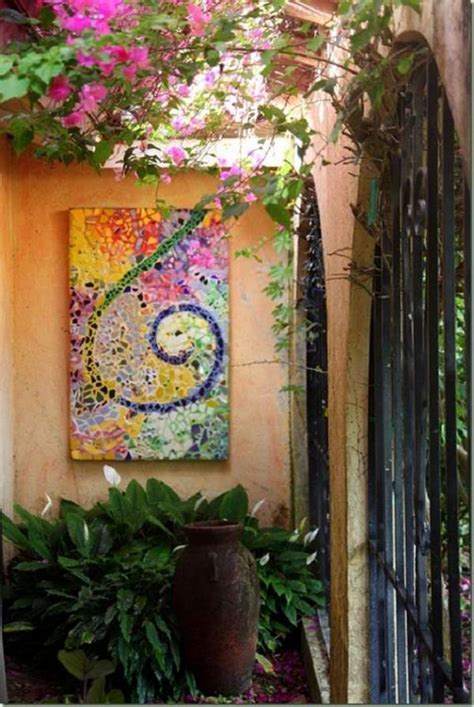 Mosaic Ideas For The Garden 18 Brilliant Diy Mosaic Ideas For Garden Balcony Garden Web