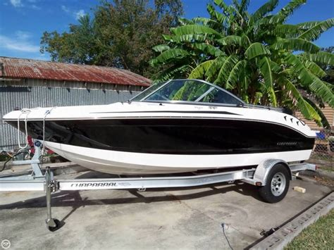 chaparral boats h2o 18 sport 2012 used chaparral h2o 18 sport bowrider boat for sale