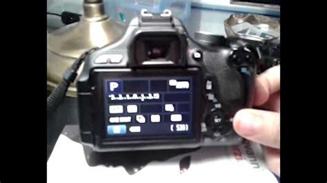 tutorial fotografi canon eos 600d tutorial canon 600d aggiornare firmware alla versione 1