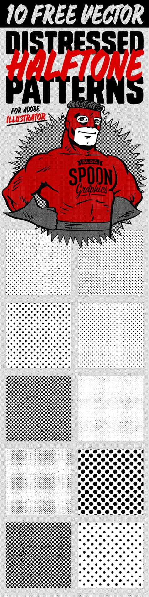 pattern ai use 10 distressed vector halftone patterns for illustrator
