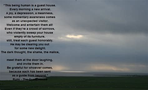 The Guest House 2012 by Rumi The Guest House Amywriting