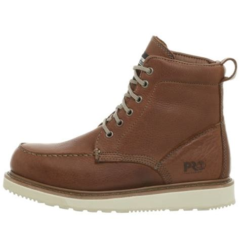 mens timberland boots white sole timberland pro s wedge sole 6 quot boot