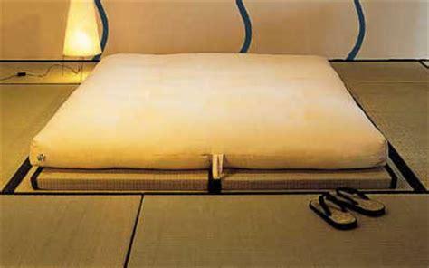 tatami e futon zen dormire alla giapponese futon e tatami
