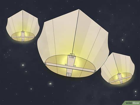 come costruire una lanterna volante come costruire una lanterna volante 7 passaggi