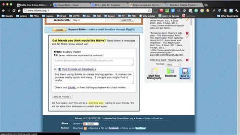 bid me how to use bibme org