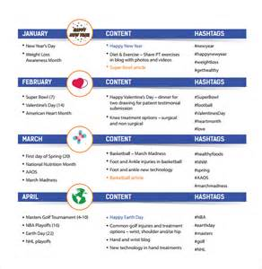 Social Media Calendar Template Excel by Social Media Calendar Template 7 Free